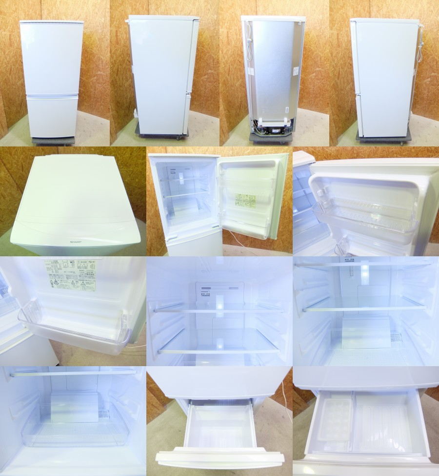 冷蔵庫 SJ-D14B-W